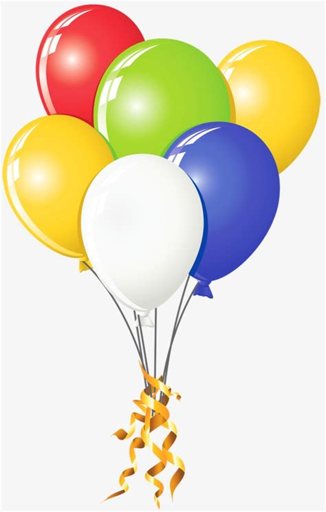 Colored balloons color balloon png and psd file for free download