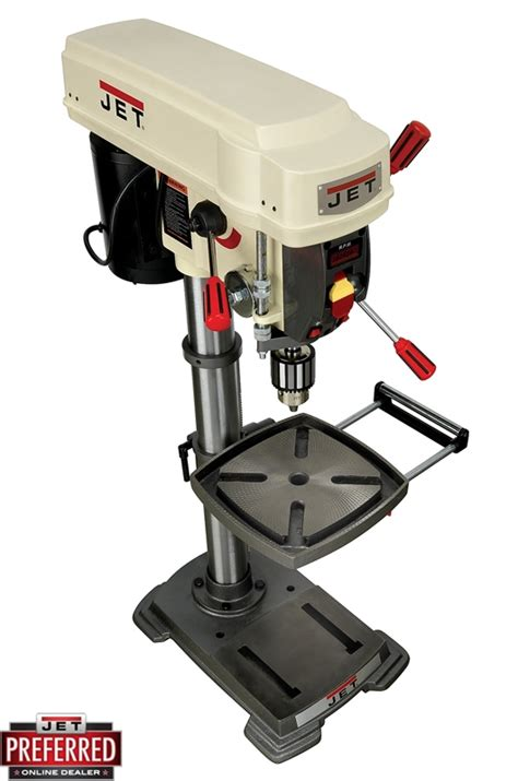 jet bench drill press jet jdp 12 12 quot bench top drill press