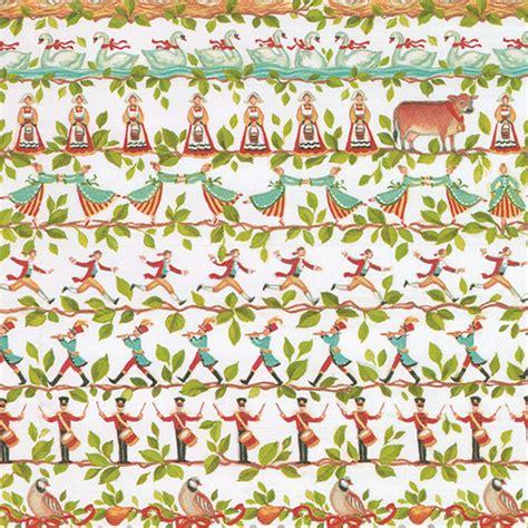 caspari christmas wrapping paper
