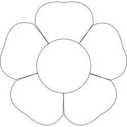 Free Flower Template Printable by Flower Petal Template Printable Cliparts Co