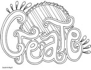 great coloring pages http www doodle alley word
