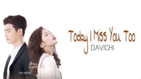 download davichi while you were sleeping ost part 7 davichi today i miss you too lyrics while you were