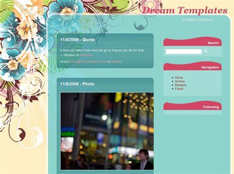 tumblr themes dream dream theme tumblr