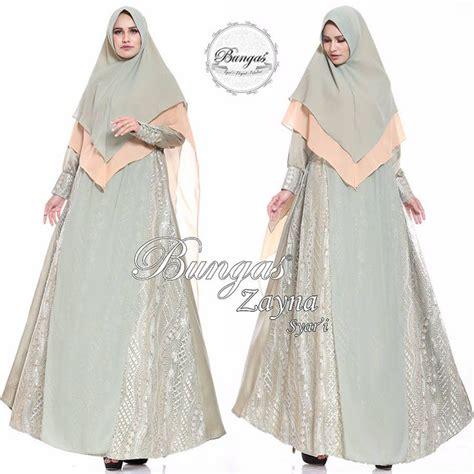 zayna 2 by bungas gamis cantik pusat gamis muslim zayna syar i by