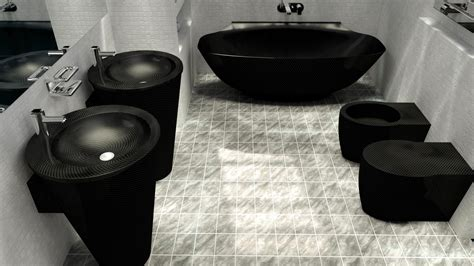 Design My Bathroom Exclusive Carbon Fiber