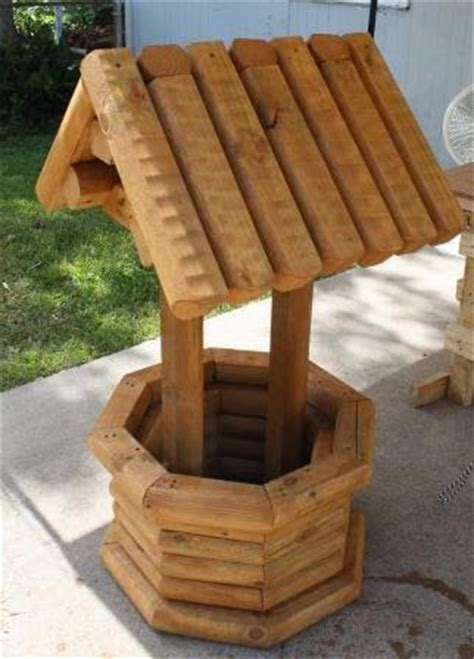 Landscape Timber Wishing Well Plans Workbenches Wishing Yards Alive Custom