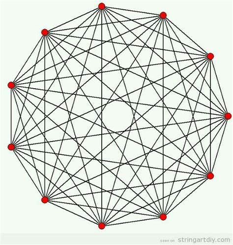 Geometry String Project - 291 best images about string projects ideas and