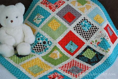 Easy Baby Quilt Blocks by Building Blocks Baby Quilt 171 Moda Bake Shop