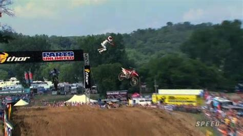 what channel is ama motocross on ama mx 450 reed huge crash spring creek speed channel