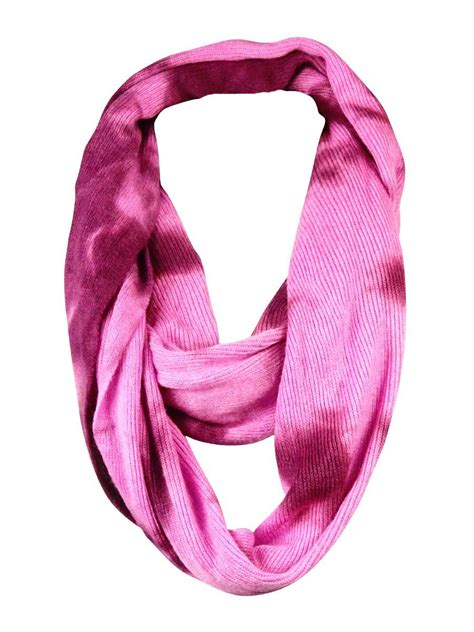 bcbgeneration s ribbed tie dye loop infinity scarf