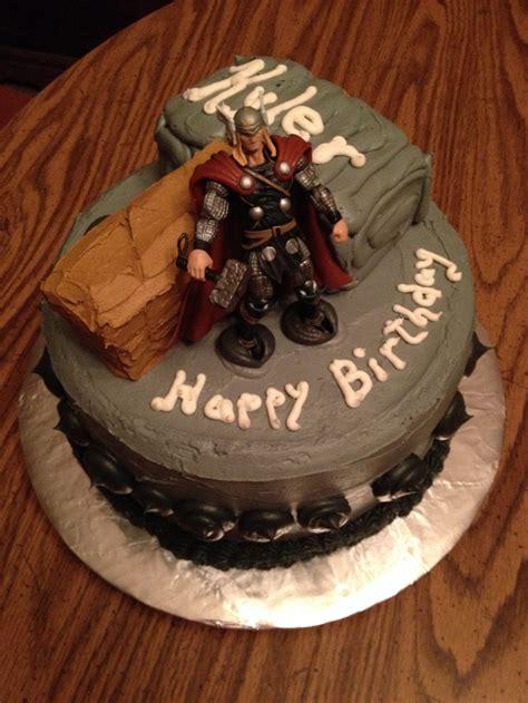 Thor Cake Kl Y Kupcakes By Kelli Www