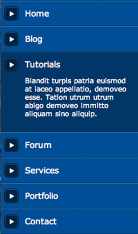tutorial css navigation menu 100 great css menu tutorials