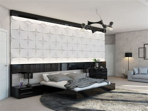wall headboard ideas statement headboard wall interior design ideas
