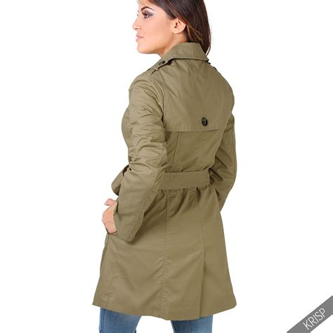 7 Stylish Trench Coats by Womens Stylish Trench Coat Tailored Fit Belted