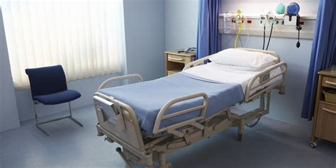 empty bed in canada hospital bed wait time averages 8 8 hours for