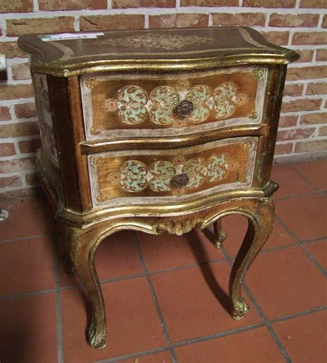vintage gold chest of drawers louis xv style vintage french painted gold chest of 2