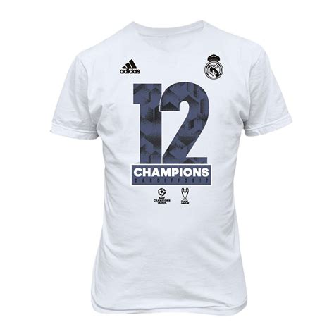 T Shirt Real Madrid real madrid adidas winner t shirt