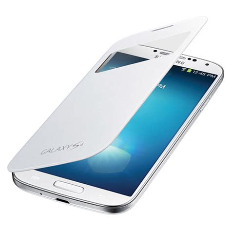 Flip Cover View Samsung S4 samsung s view flip cover for galaxy s4 white ef ci950bwesta