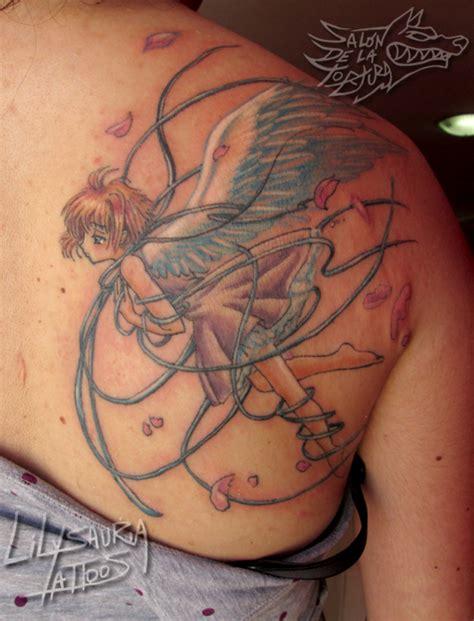 card captor sakura manga style tattoo by secret rendez