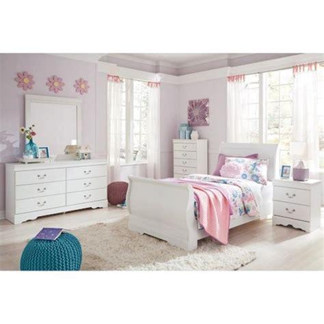 ashley furniture anarasia bedroom twin sleigh bed