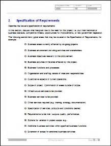 request for proposal rfp templates in ms word and excel