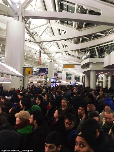 Aniston Causes Chaos At Airport by Passengers Cause Disturbance At Jfk After Flight Delays