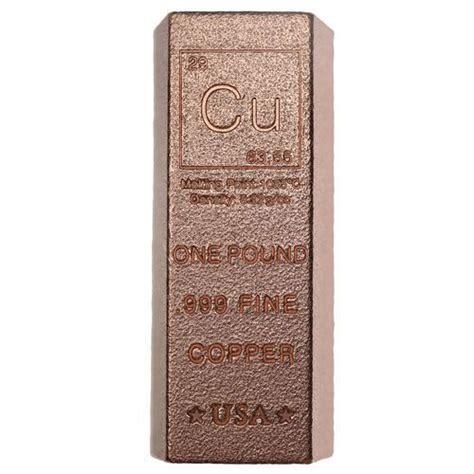 1 lb silver bar buy 1 pound copper bullion loaf bars 999 1 lb l jm