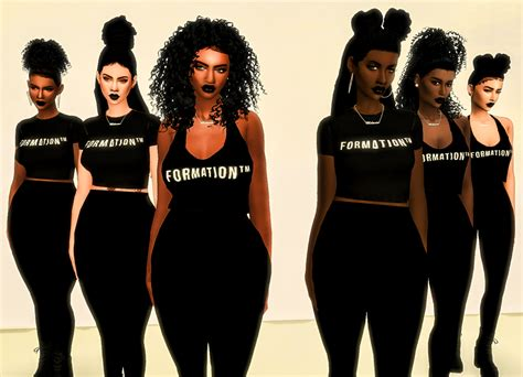 ebonix hair sims 4 my sims 4 blog formation 6 new hairs by ebonixsimblr