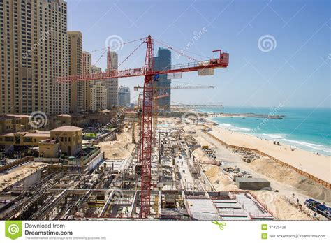 Free Download Residential Building Plans large construction site for a new mall at the beach
