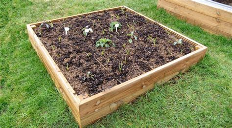 Wooden Raised Garden Bed Kits by 4ft X 4ft Wooden Raised Bed Kit Access Garden Products