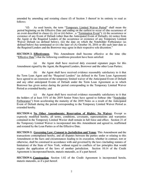 section 102 agreement contract by basic energy services inc