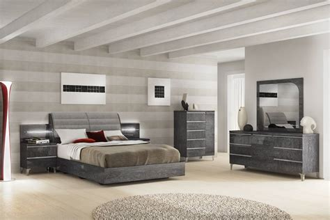 modern italian bedroom furniture sets made in italy leather platform bedroom sets with