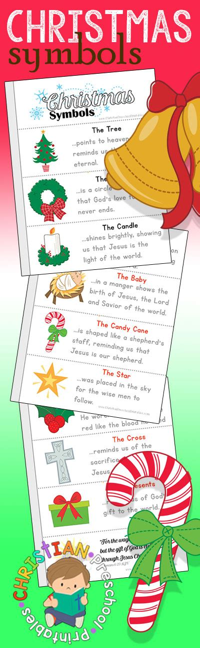 what is the significance of the christmas tree to christians symbols of printables christian preschool printables