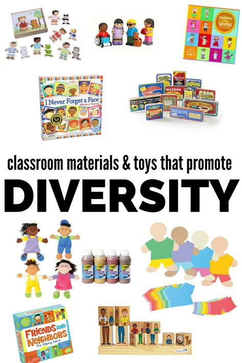 Kindergarten Activities Without Materials | multicultural classroom materials diverse toys for