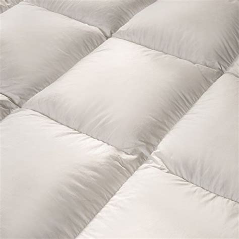 pillow top bed cover feather bed pillow top mattress topper 5 inch free