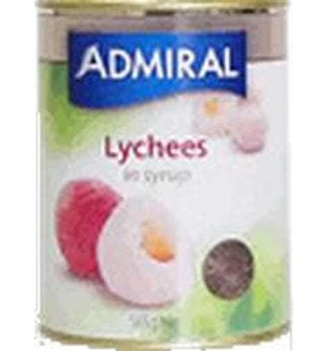 Lychees In Syrup Boat admiral lychees in syrup 565gm delights
