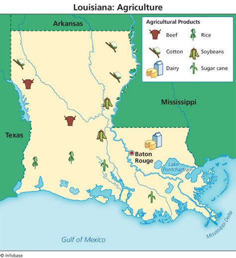 louisiana agriculture map agri view louisiana agriculture southeast agnet