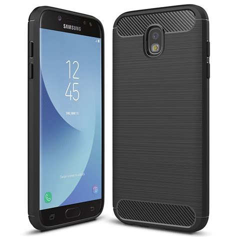 Samsung 5 Pro Flexi Carbon Fibre Tough Samsung Galaxy J5 Pro Black
