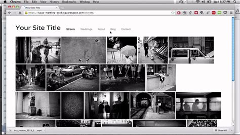 Find Best Web Hosting For Photographers With A Squarespace Template Youtube Best Squarespace Template For Photographers