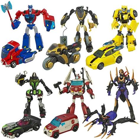 transformers animated deluxe figures wave 2 hasbro