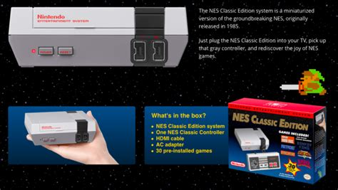 nintendo s new mini nes commercial 102 3 the max nintendo is releasing a mini nes with 30 integrated ohgizmo