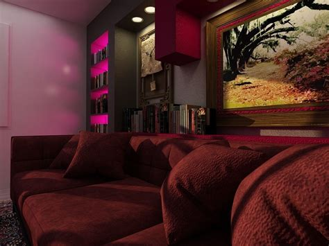 Living Room Design 3d Model
