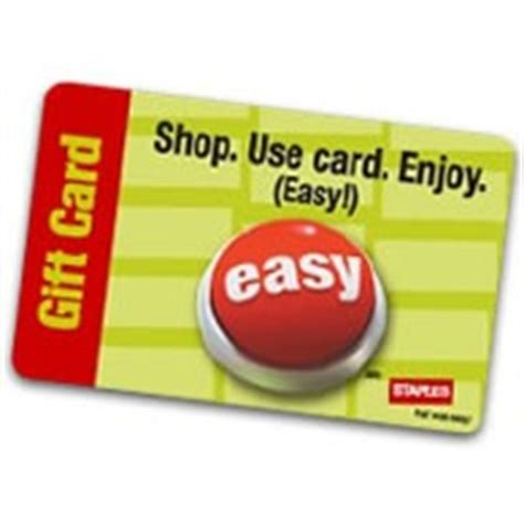 Can I Use Staples Gift Card Online - staples gift card