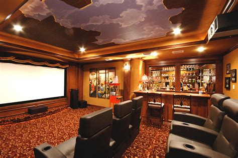 Home Theater Houston Ideas Open Sky Theater Room