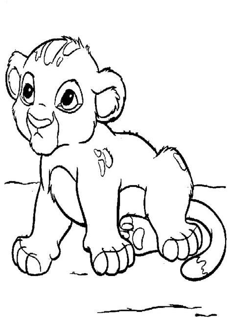 imagenes de leones infantiles para colorear leones para colorear dibujos para colorear