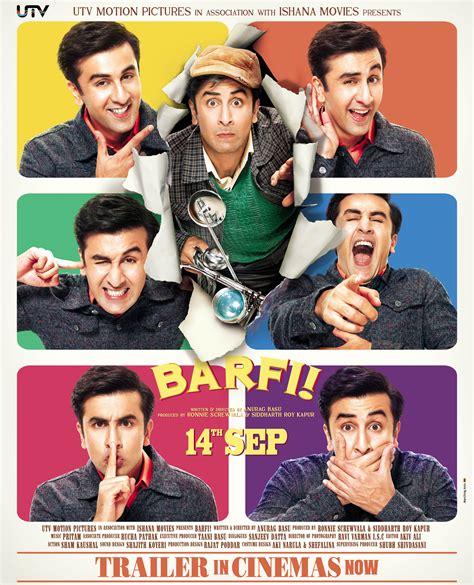film comedy bollywood terbaik barfi poster f i l m y k e e d a