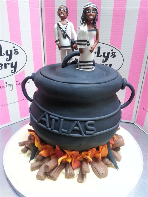 3d wedding 3d potjie pot shaped chocolate wedding cake with 3d flickr