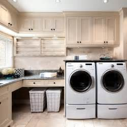 Cabinets Laundry Room Beautiful Laundry Room Design With Travertine Tile Floor And Backsplash Also Painted
