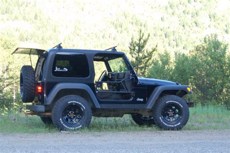 97 Jeep Wrangler Tire Size What Size Tires Will Fit A Stock Wrangler Tj Jeep