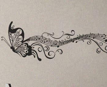 Animal Alphabet Wall Stickers butterfly music notes wall decal vinyl decor art modern